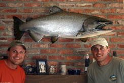 Testimonial from Tarabochia for King Salmon fish replica by Luke Filmer of Blackwater Fish Replicas